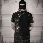 Metal Warriors Sabaton Vintage T-shirt Backside Hannes
