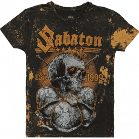 Metal Warriors Sabaton Vintage T-shirt Frontside