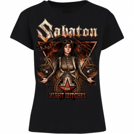 Night Witches Sabaton Women T-shirt Frontside