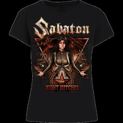 Night Witches Sabaton Women T-shirt Frontside