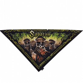 Attack of the Dead Men Sabaton Bandana Triangle Folded