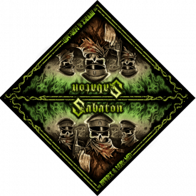 Attack of the Dead Men Sabaton Bandana Full size