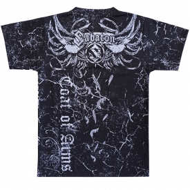 Coat of Arms Sabaton All Over T-shirt Backside