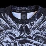 Coat of Arms Sabaton All Over T-shirt Neckline Closeup