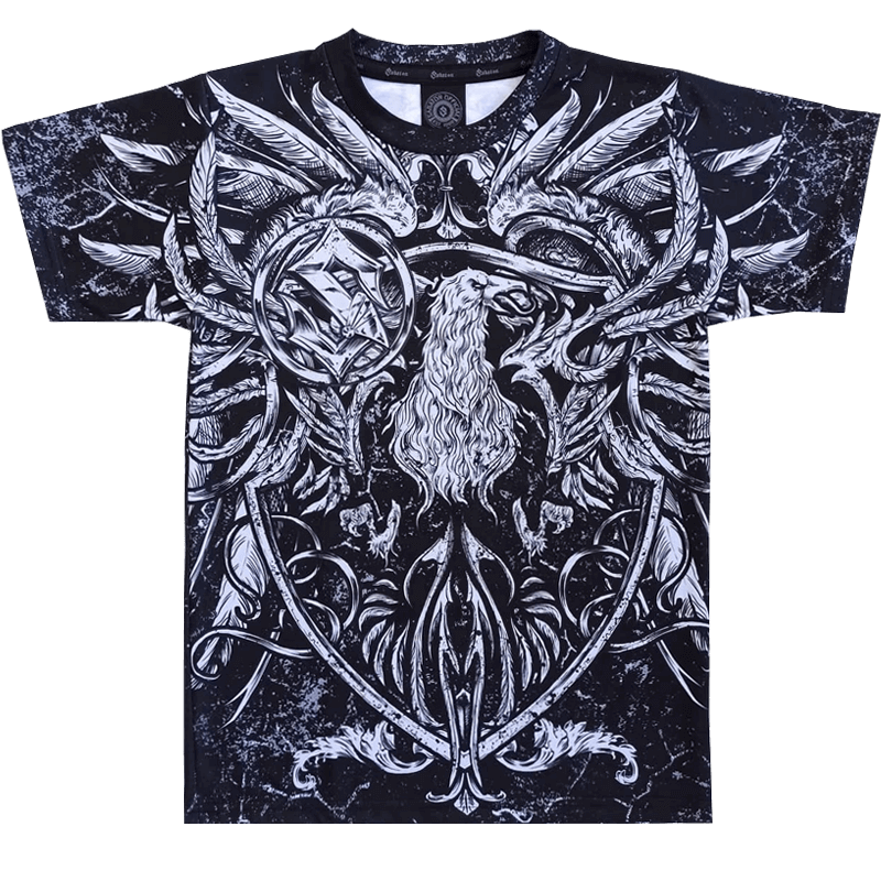 Coat of Arms Sabaton All Over T-shirt Frontside