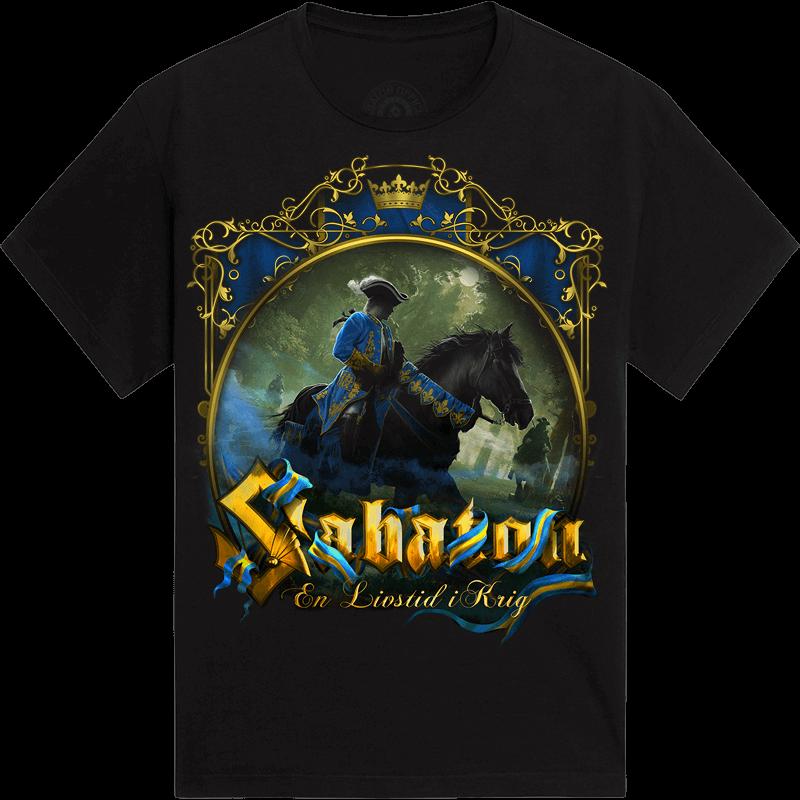 En Livstid i Krig Sabaton Limited T-shirt Frontside