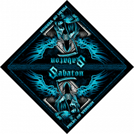 Fields of Verdun Sabaton Bandana Full size