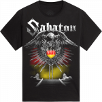 Geiselwind Heroes on Tour 2015 Sabaton T-shirt Frontside
