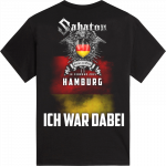 Hamburg Heroes on Tour 2015 Sabaton T-shirt Backside