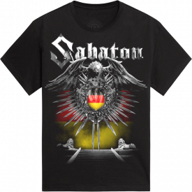 Hamburg Heroes on Tour 2015 Sabaton T-shirt Frontside