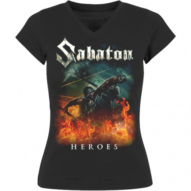Heroes on European Tour 2014-2015 V-Neck T-shirt Women