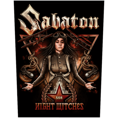 Night Witches Sabaton Back Patch