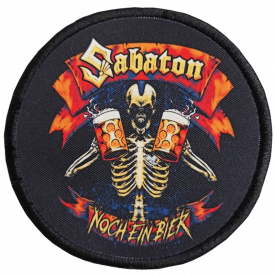 Noch Ein Bier Sabaton Patch