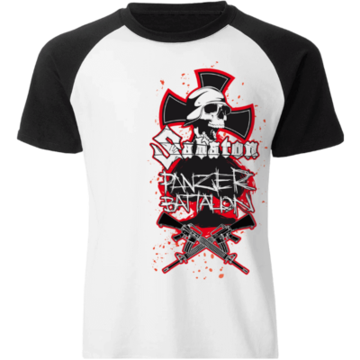 Panzer Battalion Raglan Limited T-shirt Frontside