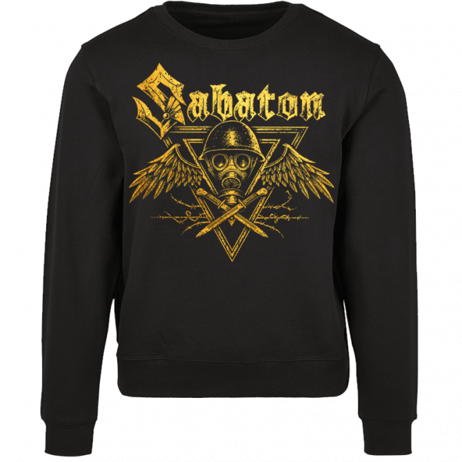 Poison Gas Black Crewneck