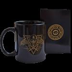 Poison Gas Black Sabaton Mug with a Box side