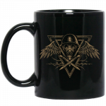 Poison Gas Black Sabaton Mug Rightside with a Box side