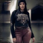 Poison Gas Cropped Crewneck Women Zayk Model