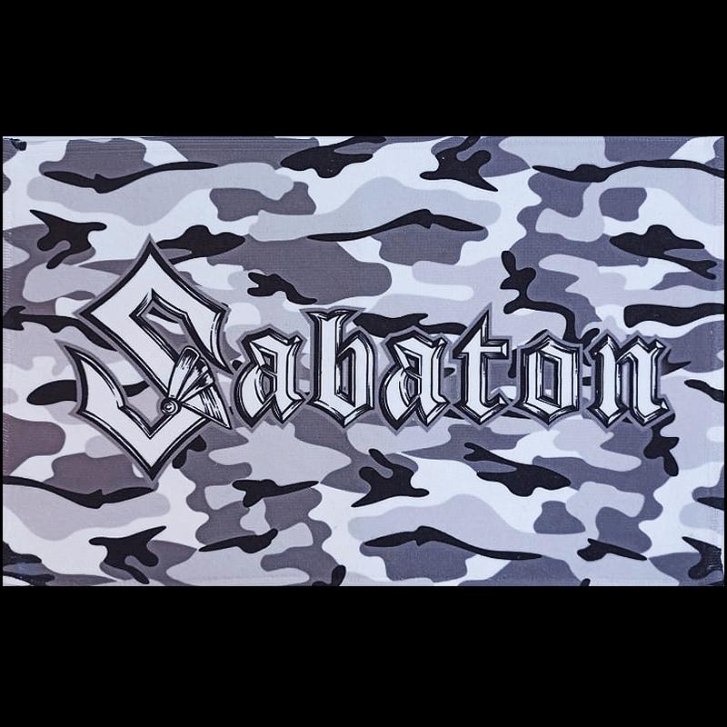 Sabaton Camo Bath Towel