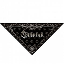 Sabaton Dog Triangle Bandana
