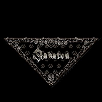 Sabaton Dog Triangle Bandana