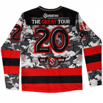 The Great Tour 2020 Hockey Jersey Backside
