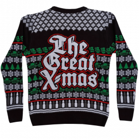 The Great X-mas Sabaton Sweater Backside