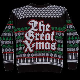 The Great X-mas Sabaton Sweater Backside