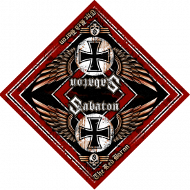 The Red Baron Sabaton Bandana Full size