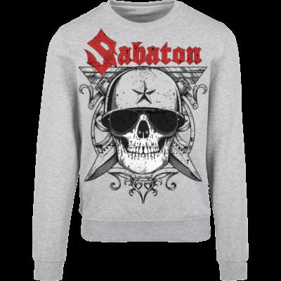 Unknown Soldier Sabaton Grey Crewneck Frontside