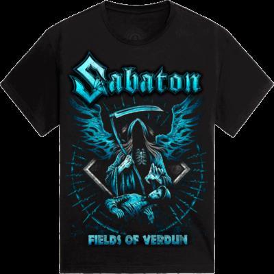 Fields of Verdun Sabaton T-shirt Frontside
