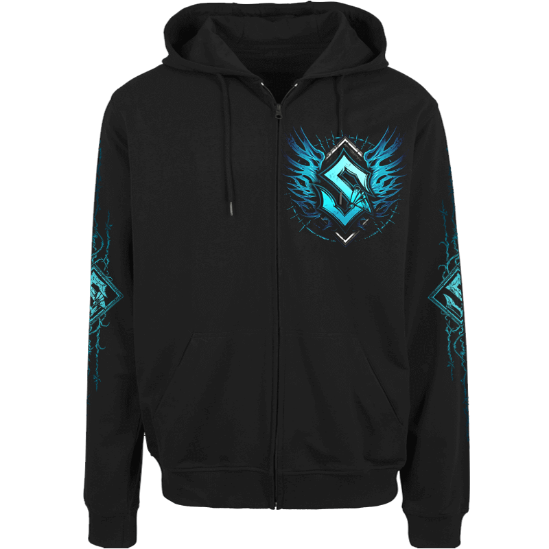 Fields Of Verdun Sabaton Zip Hoodie Frontside