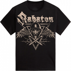 Poison Gas Sabaton T-shirt Frontside