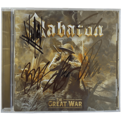 SIGNED: The Great War CD