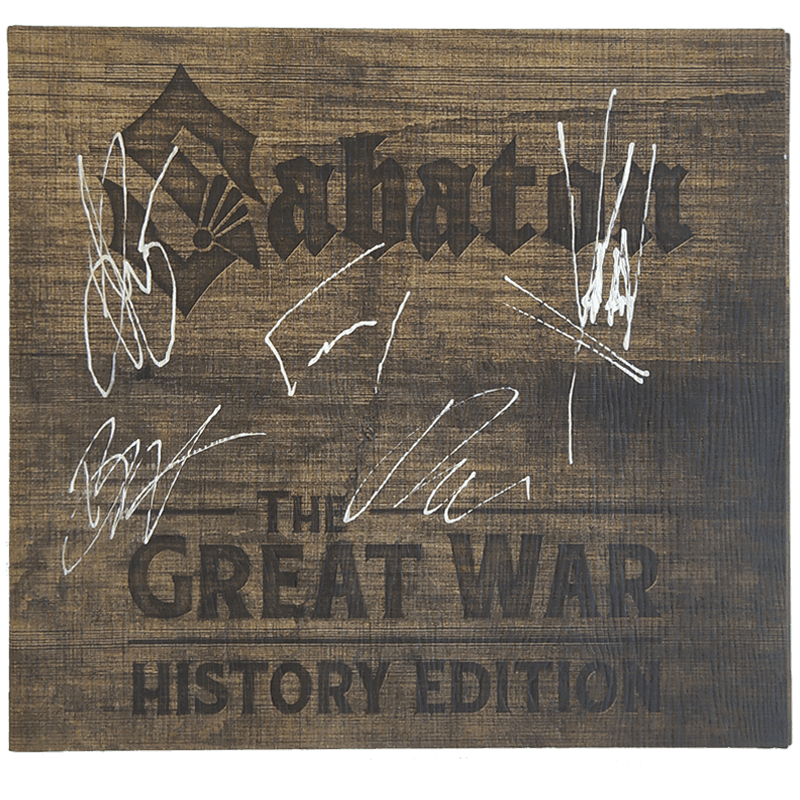 SIGNED: The Great War History Edition CD Digi