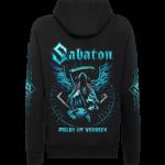 Fields Of Verdun Sabaton Zip Hoodie Backside