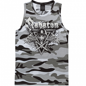Poison Gas Sabaton Winter Camo Tank Top Frontside