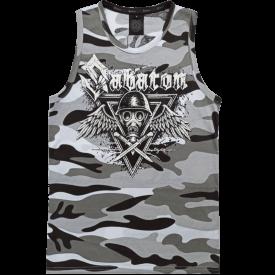Poison Gas Sabaton Winter Camo Tank Top Frontside