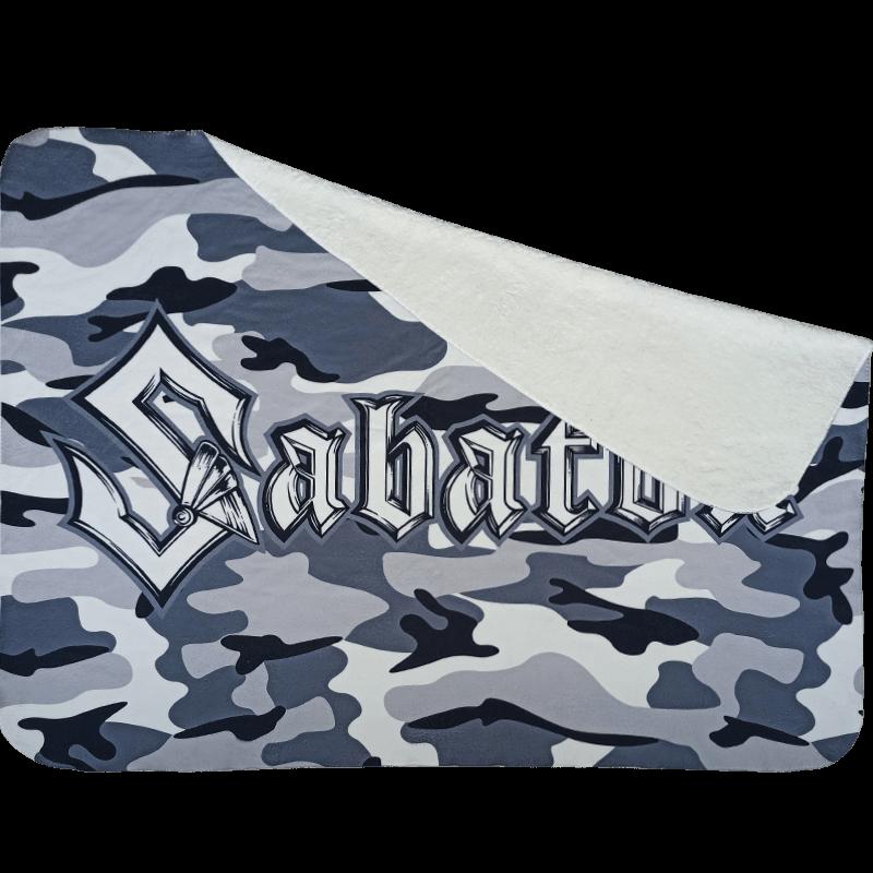Sabaton Camo Blanket Frontside