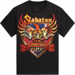 UK World War Tour 2010 Sabaton T-shirt 2010 Frontside