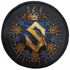 Livgardet Sabaton Circle Patch