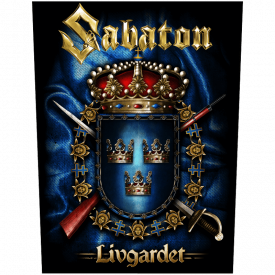 Livgardet Sabaton Back Patch