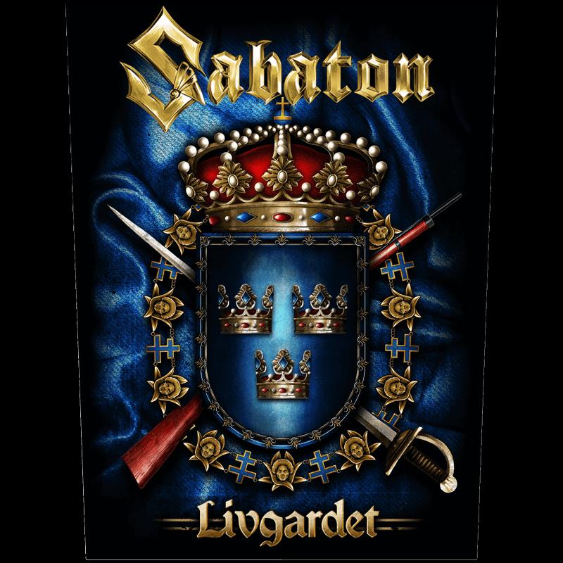 Livgardet Sabaton Back Patch