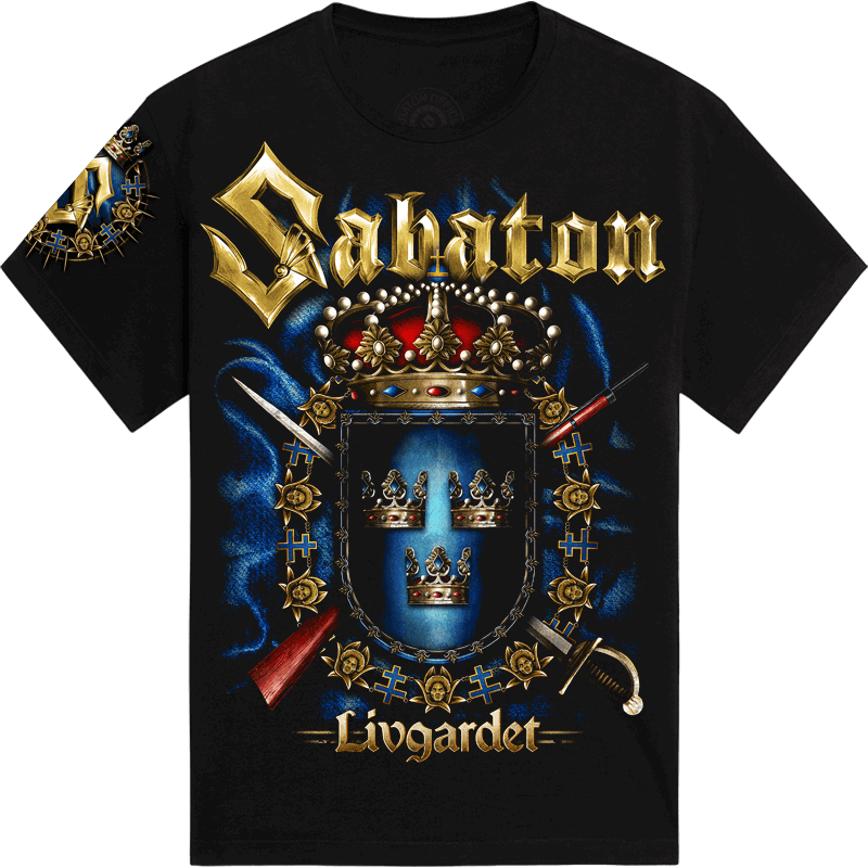 Livgardet Sabaton T-shirt Frontside