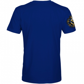 Livgardet Sabaton Royal Blue T-shirt Backside