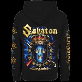 Livgardet Sabaton Zip Hoodie Backside