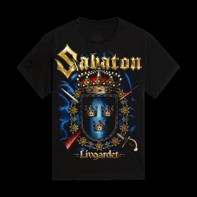 Livgardet Sabaton Kids T-shirt Frontside