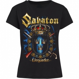 Livgardet Sabaton Women T-shirt Frontside