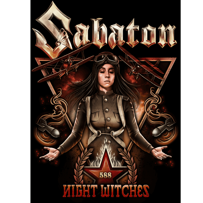 Night Witches Sabaton Flag