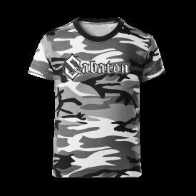 Sabaton Camo T-shirt Kids Frontside